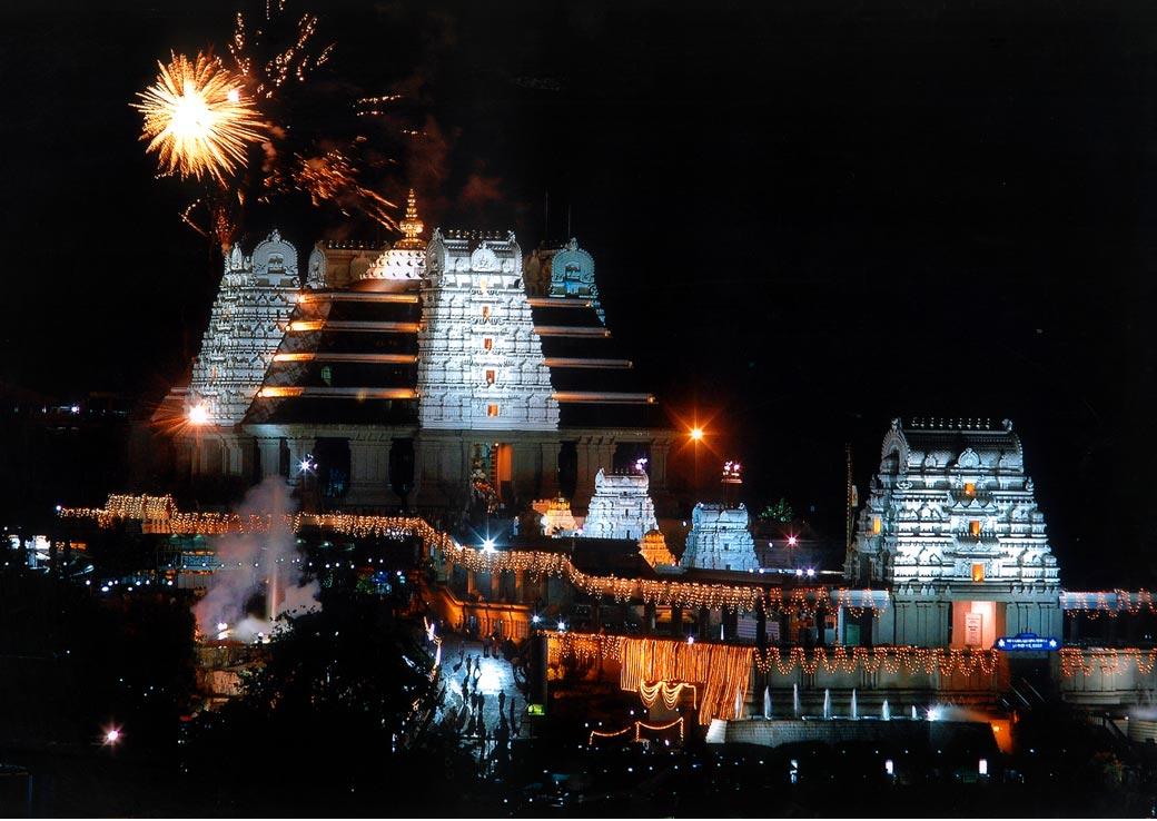 Iskon Temple at Bangalore