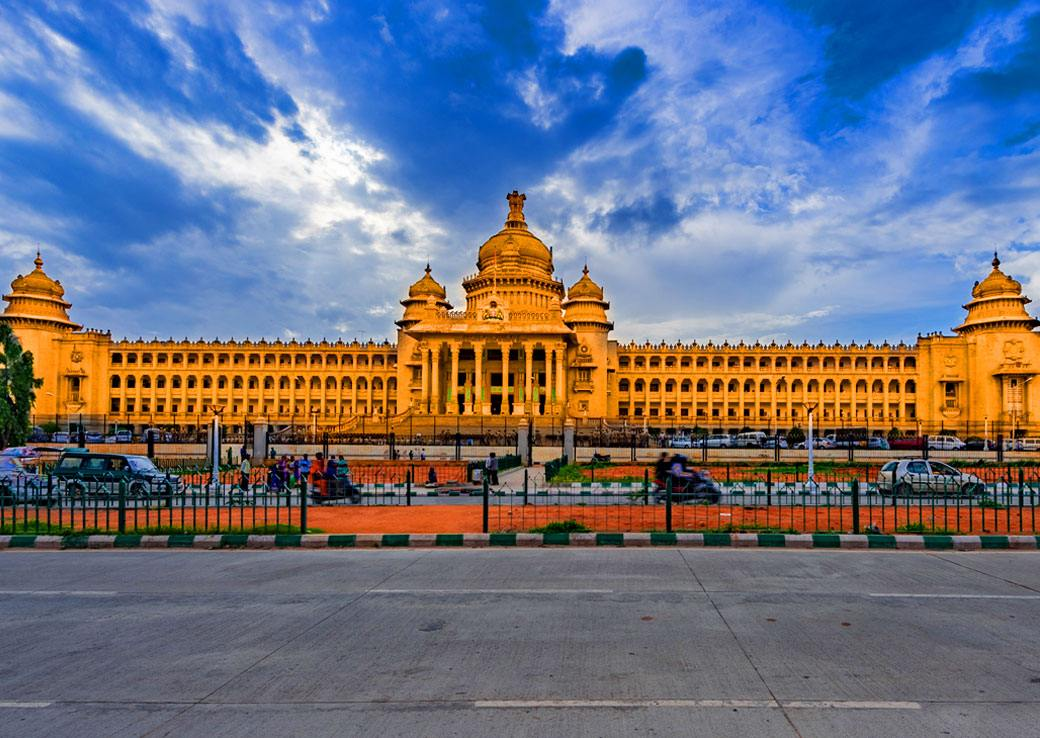 Vidhana Souda, the seat of state legislature in Karnataka