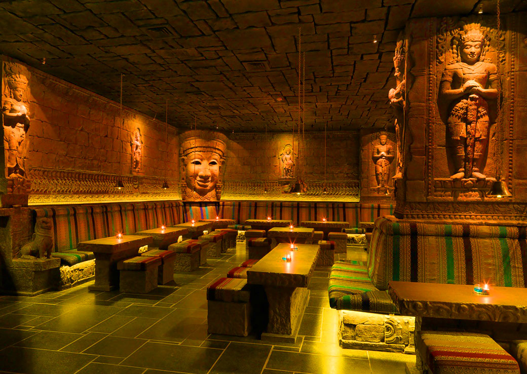 The Wat Bar at the Sterlings Mac Hotel
