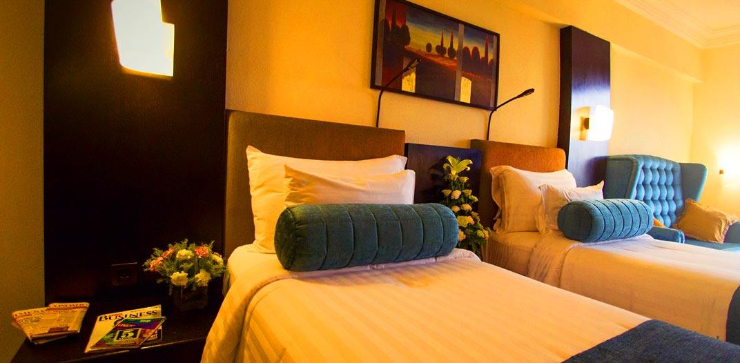 Deluxe Rooms at Sterlings Mac Hotel, Bangalore, India