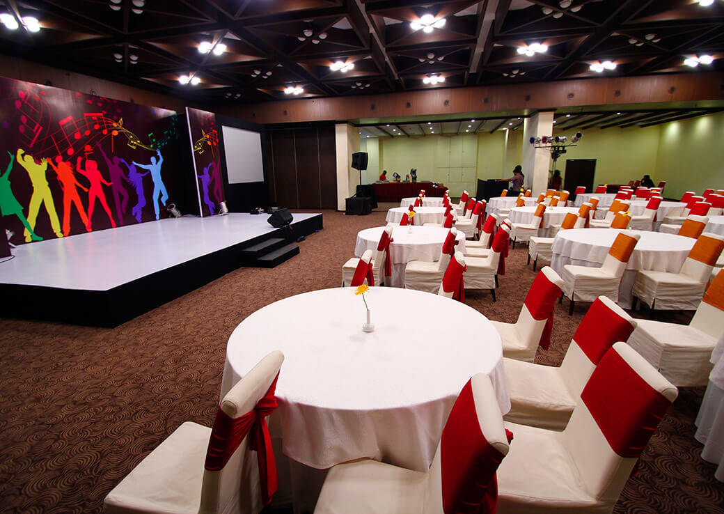 Banquet Halls at Sterlings Mac Hotel, Bangalore, India