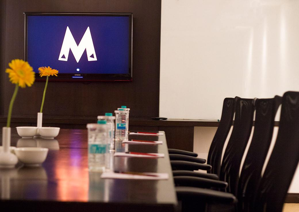 The Meeting rooms at the Sterlings Mac Hotel, Bangalore, India