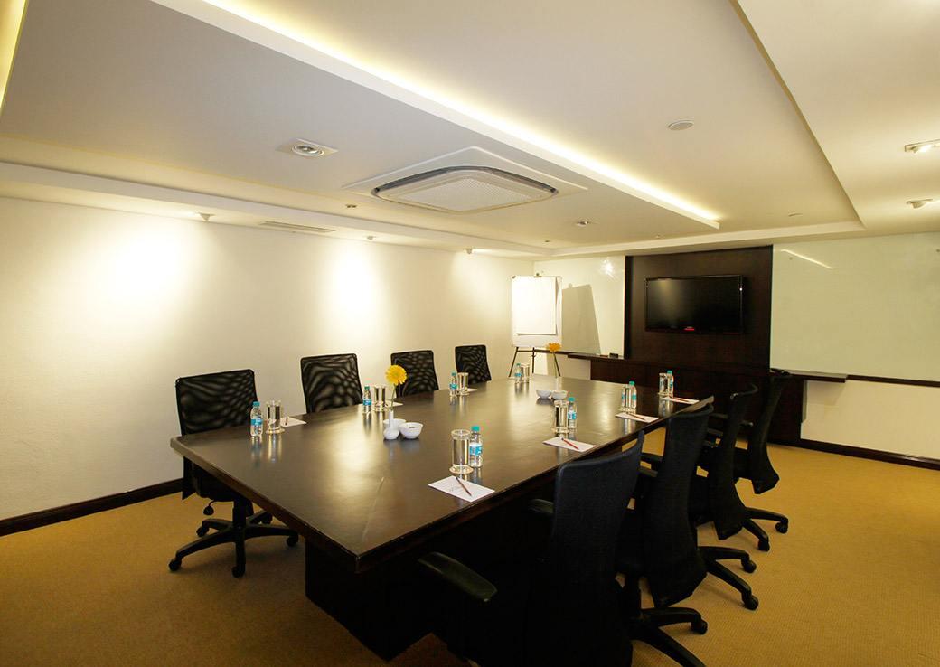 Board Room facilities at the Sterlings Mac Hotel, Bangalore, India