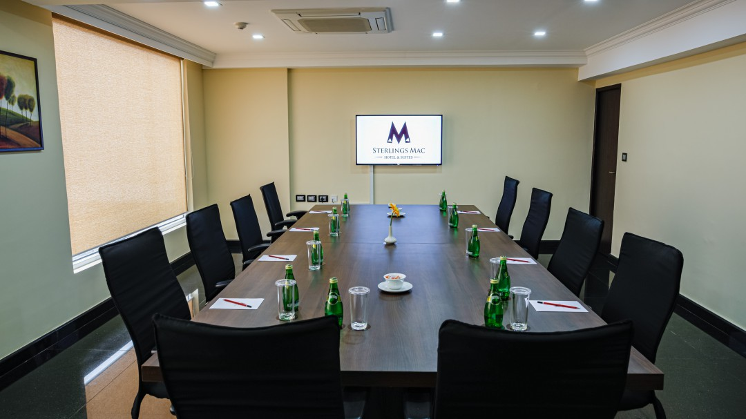 Meeting and conference space at Sterlings Mac Hotel, Bangalore, India